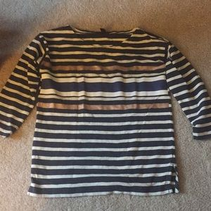 J. Crew 3/4 length sleeve shirt